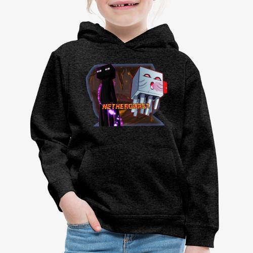 NetherGhast Mascot - Kids' Premium Hoodie