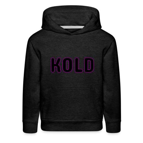 KOLD - Kids' Premium Hoodie
