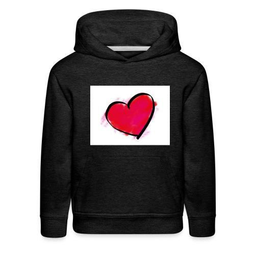 heart 192957 960 720 - Kids' Premium Hoodie