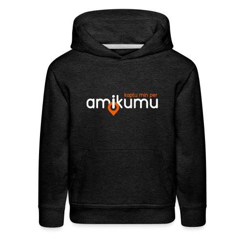 Kaptu min per Amikumu Blanka - Kids' Premium Hoodie
