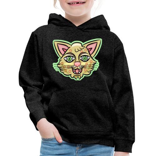 Happy Cat Gold - Kids' Premium Hoodie