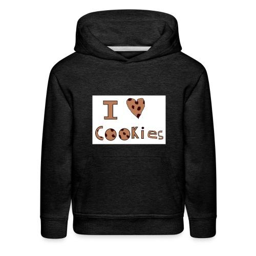I Love Cookies - Kids' Premium Hoodie