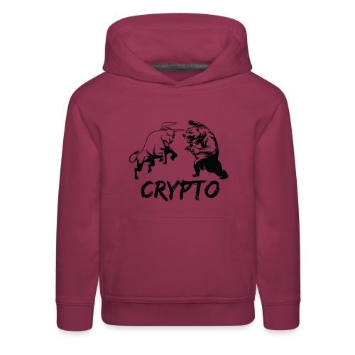CryptoBattle Black - Kids' Premium Hoodie