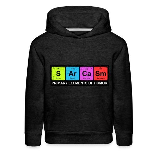 Sarcasm Periodic Elements Of Humor - Kids' Premium Hoodie