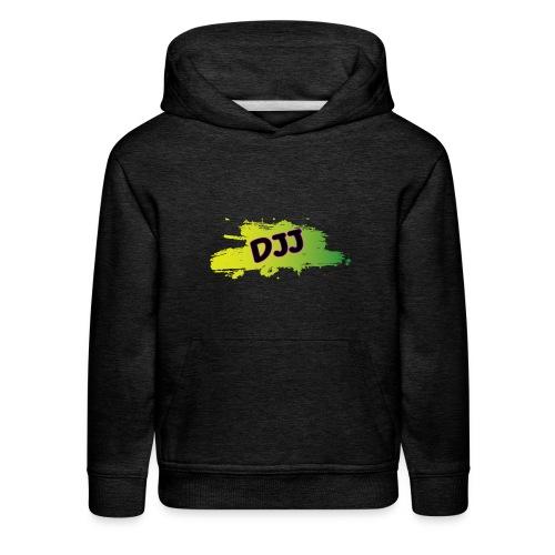 DJJ Green splash - Kids' Premium Hoodie