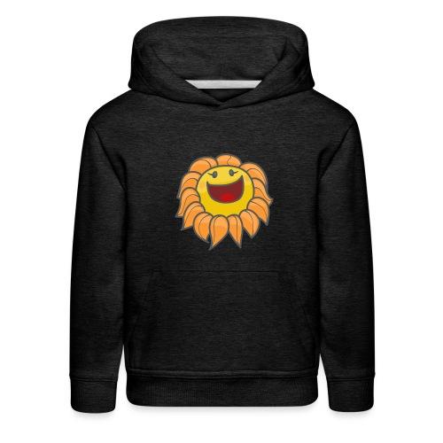 Happy sunflower - Kids' Premium Hoodie