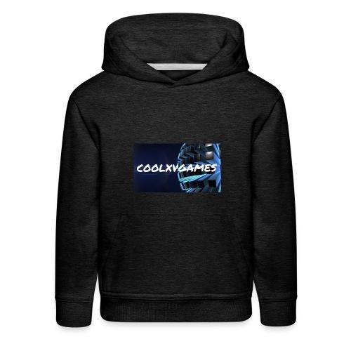 coolxvgames21 - Kids' Premium Hoodie