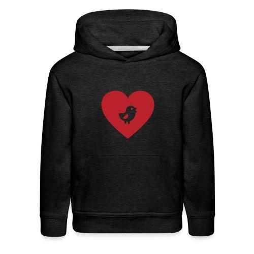 Heart Chick - Kids' Premium Hoodie