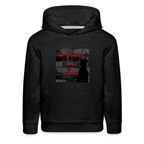 Dog Fighters are Bitches wall - Kids' Premium Hoodie
