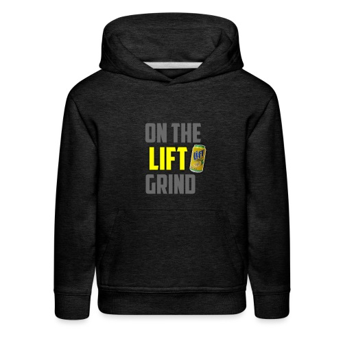 On The Lift Grind ItsMeOw - Kids' Premium Hoodie