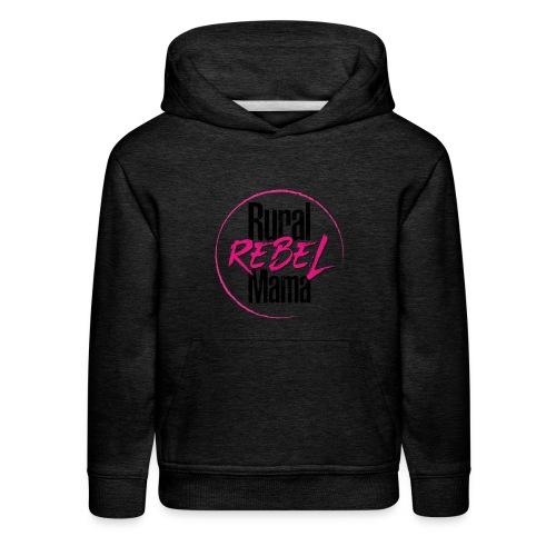 Rural Rebel Mama Logo - Kids' Premium Hoodie