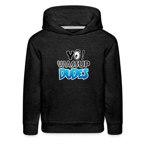 Official CaseyDude Merch! - Kids' Premium Hoodie
