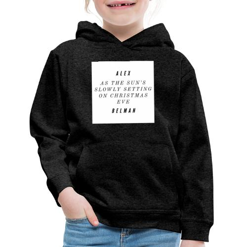 On Christmas Eve Lyrics - Kids' Premium Hoodie