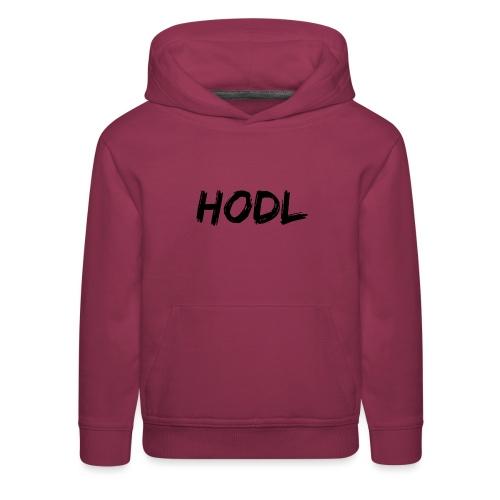 HODL - Kids' Premium Hoodie