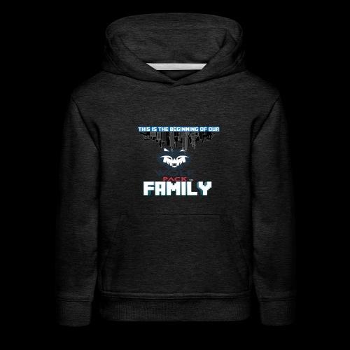 We Are Linked As One Big WolfPack Family - Kids' Premium Hoodie