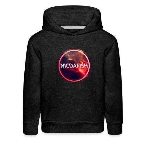 NicDaFish Logo - Kids' Premium Hoodie