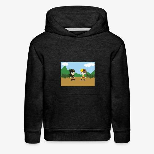 Digital Pontians - Kids' Premium Hoodie