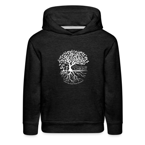 Rooted Together in Christ - LDSHE - Kids' Premium Hoodie