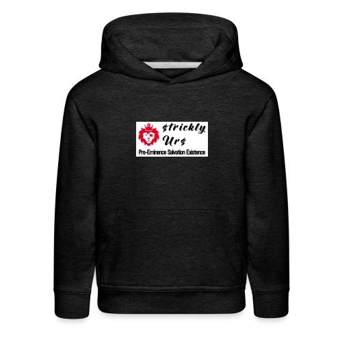 E Strictly Urs - Kids' Premium Hoodie