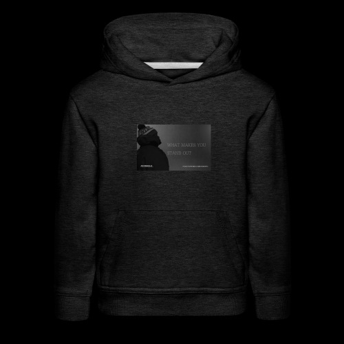 Standing Out - Kids' Premium Hoodie