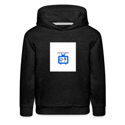 OdogVlogsTv Offical Logo - Kids' Premium Hoodie