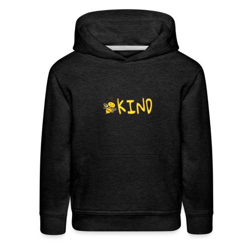 Be Kind - Adorable bumble bee kind design - Kids' Premium Hoodie
