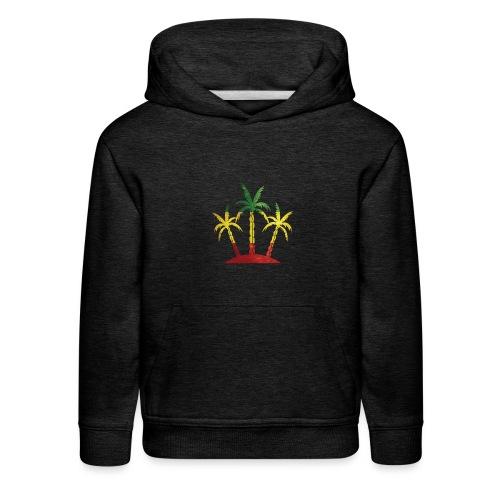 Palm Tree Reggae - Kids' Premium Hoodie