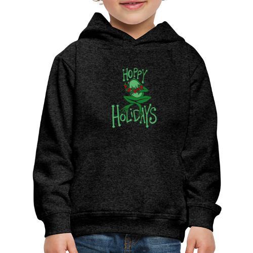 Hoppy Holidays - Kids' Premium Hoodie