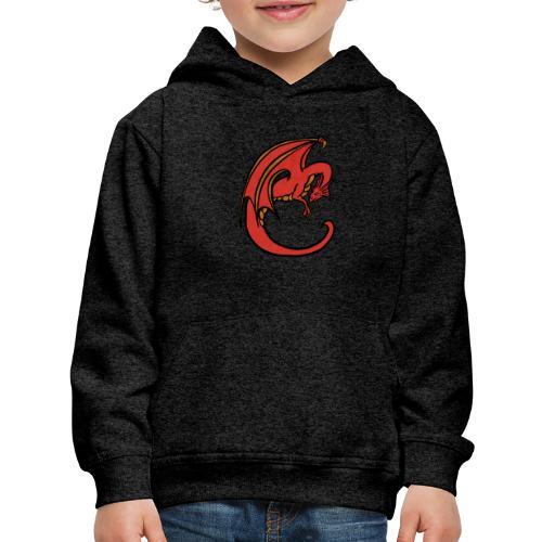 Red Dragon - Kids' Premium Hoodie