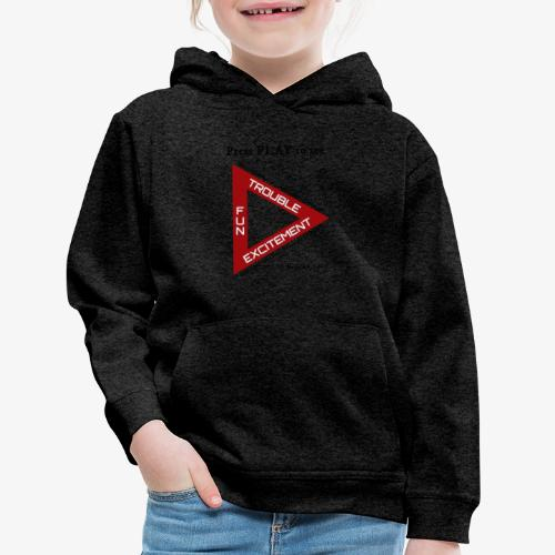 Press PLAY to See - Kids' Premium Hoodie