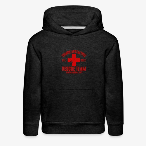 Zombie Rescue Halloween Shirt - Kids' Premium Hoodie