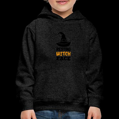 Resting Witch Face | Funny Halloween - Kids' Premium Hoodie
