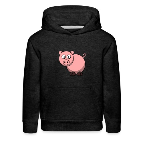 Funny Pig T-Shirt - Kids' Premium Hoodie
