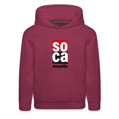 Soca music - Kids' Premium Hoodie