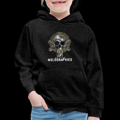 No Music Is Death - Kids' Premium Hoodie