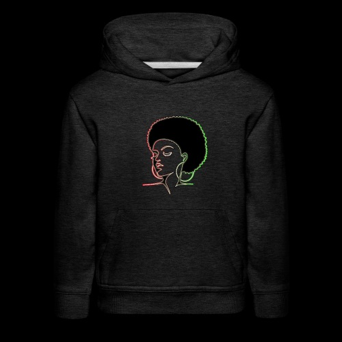 Afrolady - Kids' Premium Hoodie