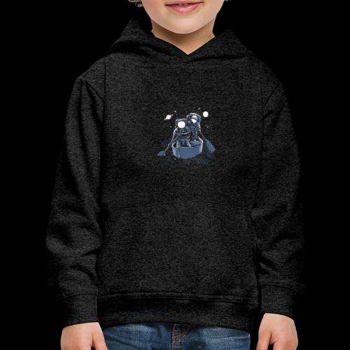 Across The Galaxy Astronauts - Kids' Premium Hoodie