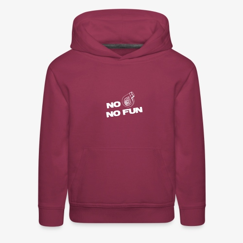 No turbo no fun - Kids' Premium Hoodie