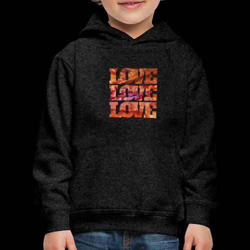 BACON LOVE - Kids' Premium Hoodie