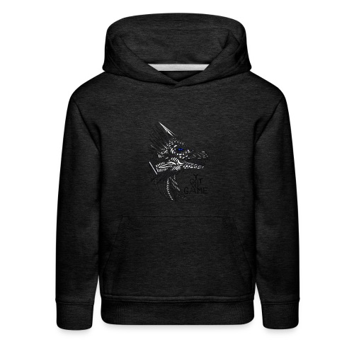 Blue eye dragon - Kids' Premium Hoodie