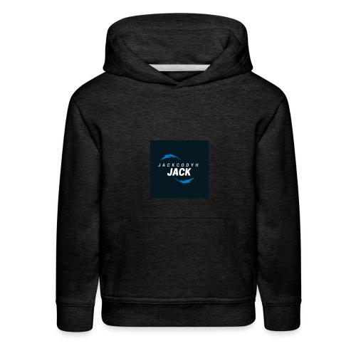 JackCodyH blue lightning bolt - Kids' Premium Hoodie