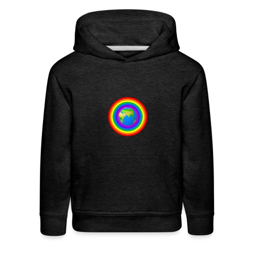 Earth rainbow protection - Kids' Premium Hoodie
