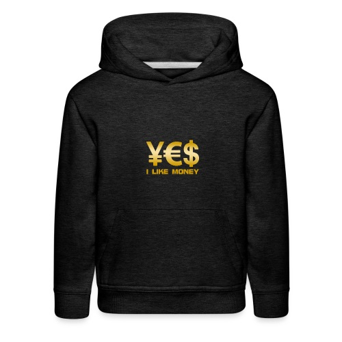 i like money - Kids' Premium Hoodie