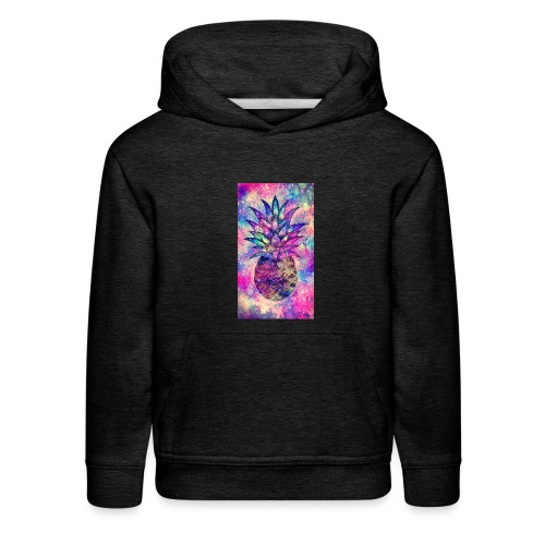 COLOUR PINEAPPLE - Kids' Premium Hoodie