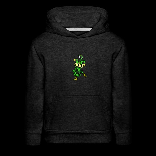 Three-Eyed Alien - Kids' Premium Hoodie