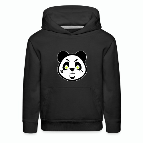 #XQZT Mascot - Focused PacBear - Kids' Premium Hoodie
