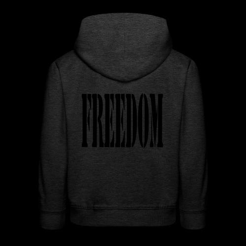 Freedom Logo - Kids' Premium Hoodie