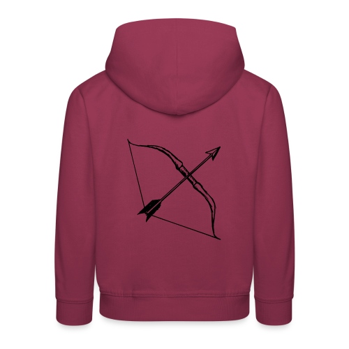 bow and arrow 3 - Kids' Premium Hoodie