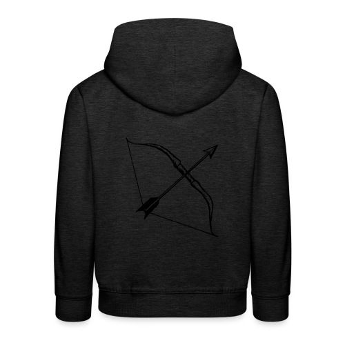 bow and arrow 3 - Kids' Premium Hoodie
