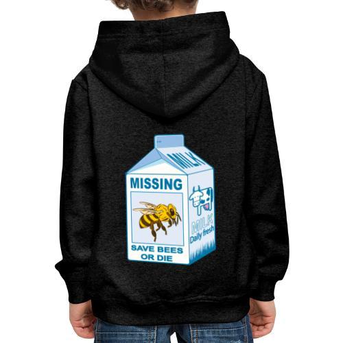 Missing Bees - Kids' Premium Hoodie